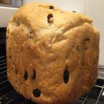 手作りパン日記♪~レーズン・ナッツ食パン~
