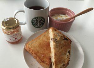 ケフィア ヨーグルト 朝食