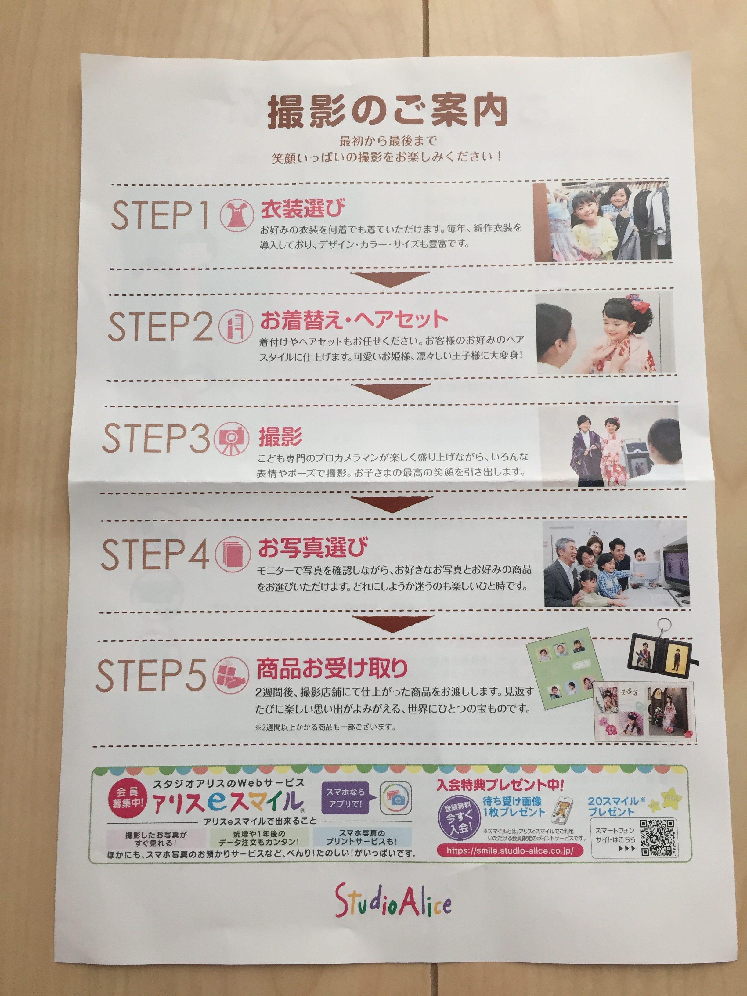 スタジオアリス 口コミ