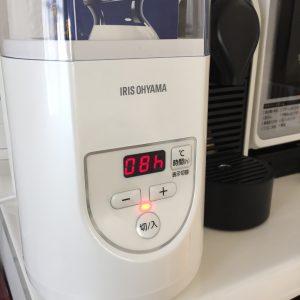 ヨーグルトメーカー R-1 設定温度 タイマー 時間