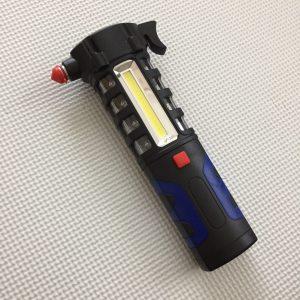 懐中電灯 LEDライト ハンマー 車載用