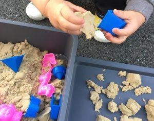 魔法の砂 キネティックサンド 1歳児 0歳児