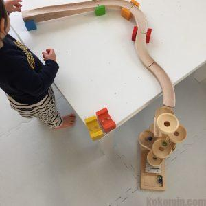 クーゲルタワー クーゲルバーン ブログ 1歳児 カラコロツリー
